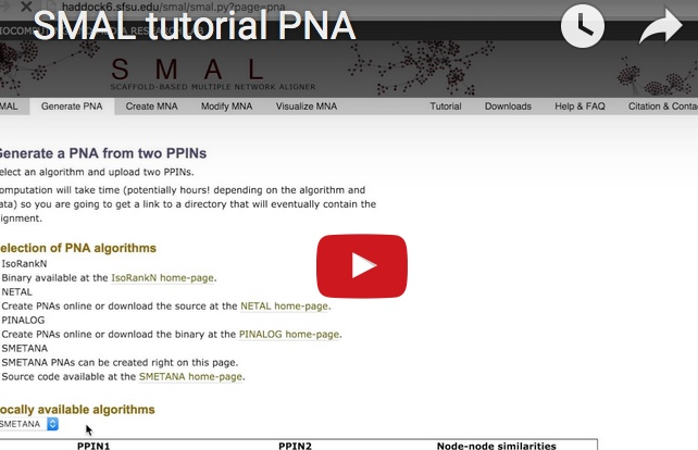 PNA video tutorial